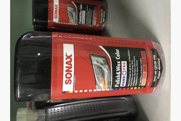 Полироль Sonax по цвету (красная)