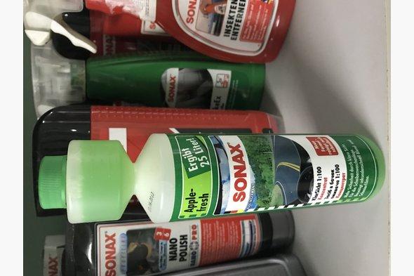 Жидкость в бачок омывателя Sonax Apple