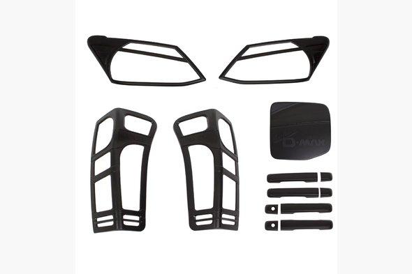 Комплект накладок (черный ABS)