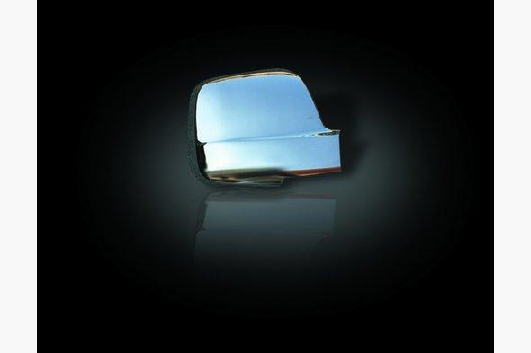 Накладки на зеркала (2 шт, нерж.)