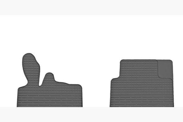Резиновые коврики (2 шт, Stingray Premium)