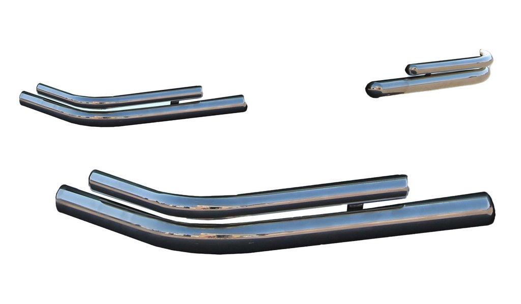 Задние двойные уголки AK003-double (2 шт, нерж)