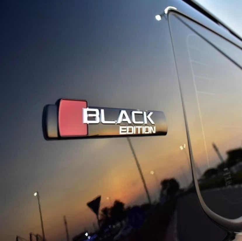 Надпись BlackEdition (2 шт)