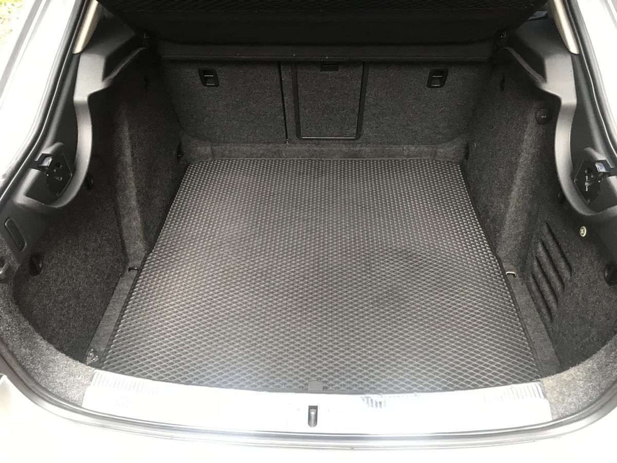 Коврик багажника Liftback (EVA, полиуретановый, черный)