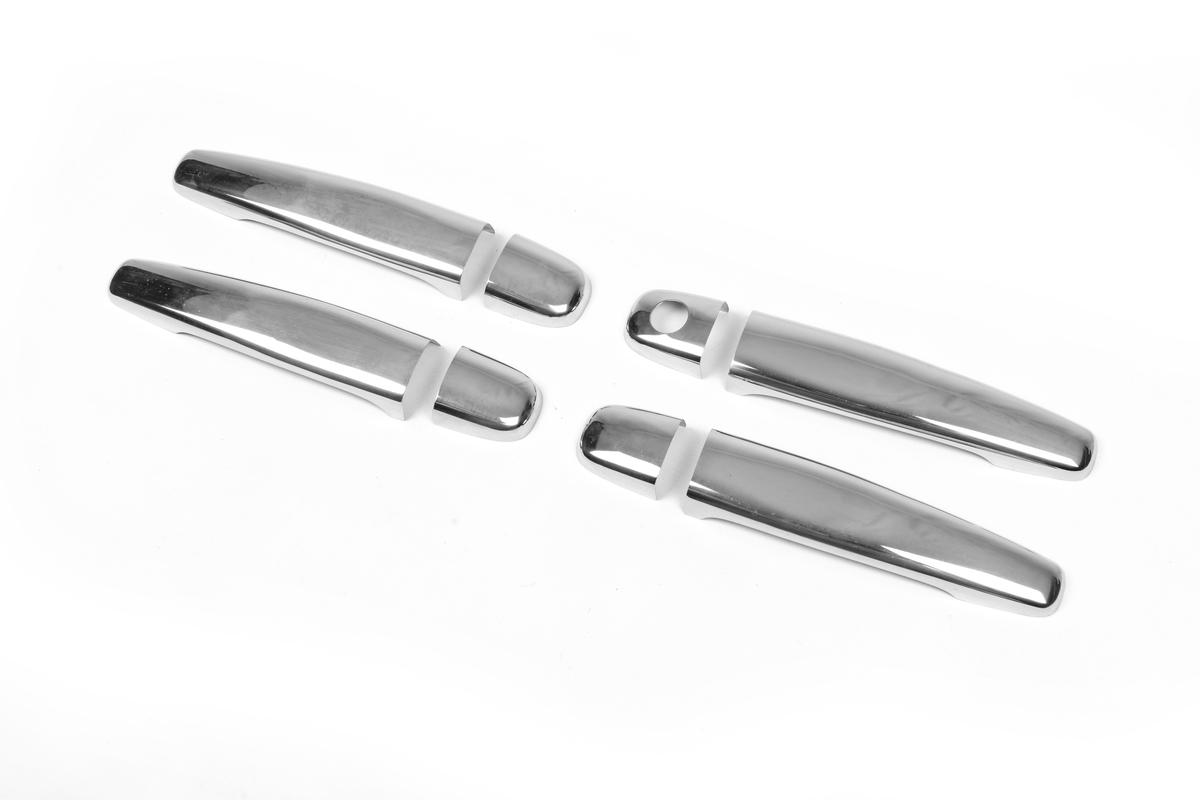 Накладки на ручки (нерж) 4 шт, Carmos - Турецкая сталь