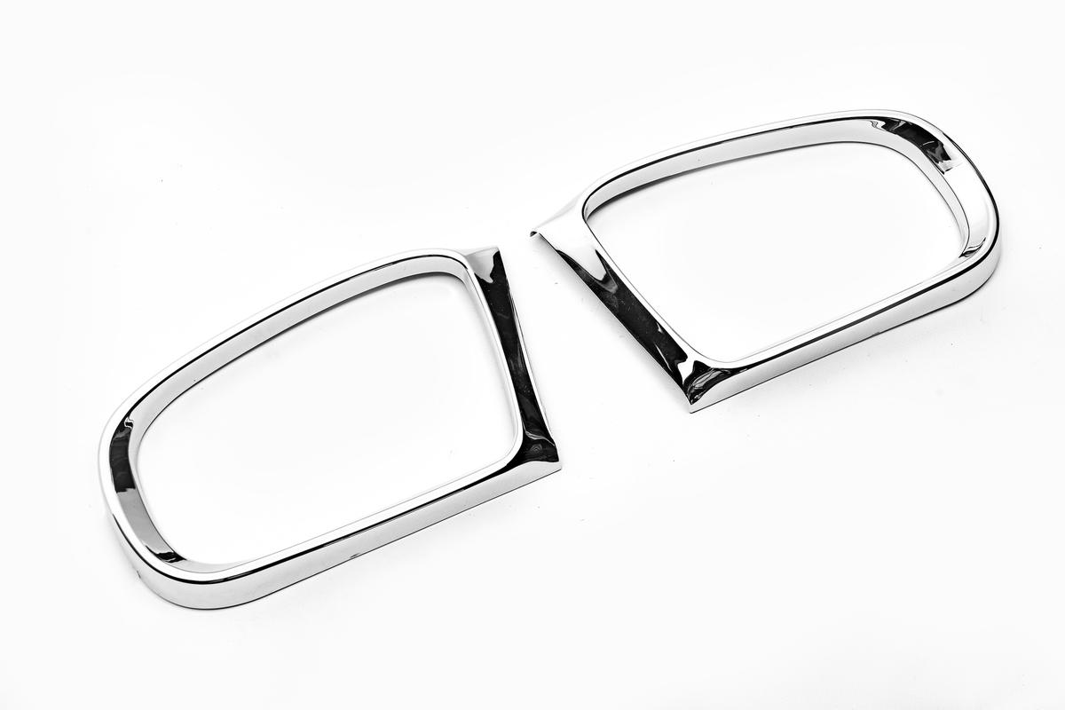 Ободок зеркала (2 шт, пласт)