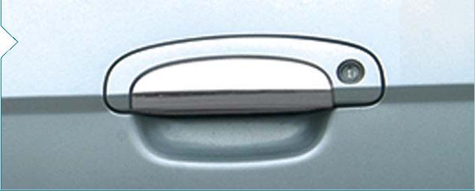 Накладки на ручки (4 шт) Carmos - Турецкая сталь