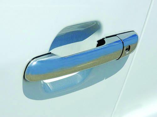 Накладки на ручки (4 шт, нерж) Carmos - Турецкая сталь