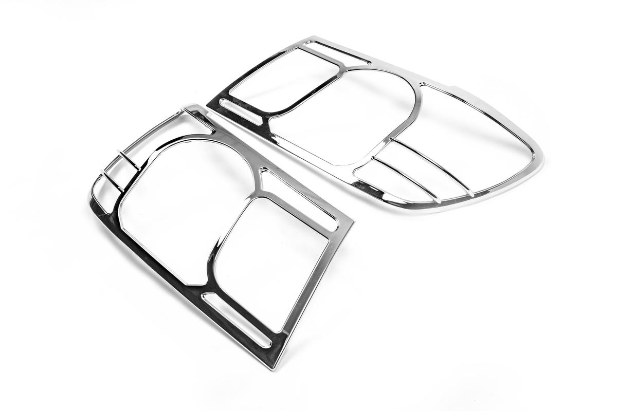 Накладки на фары V1 (2 шт, пласт.)
