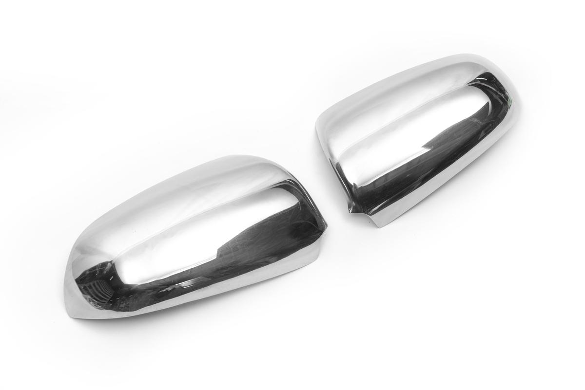 Накладки на зеркала (2 шт., нерж.)