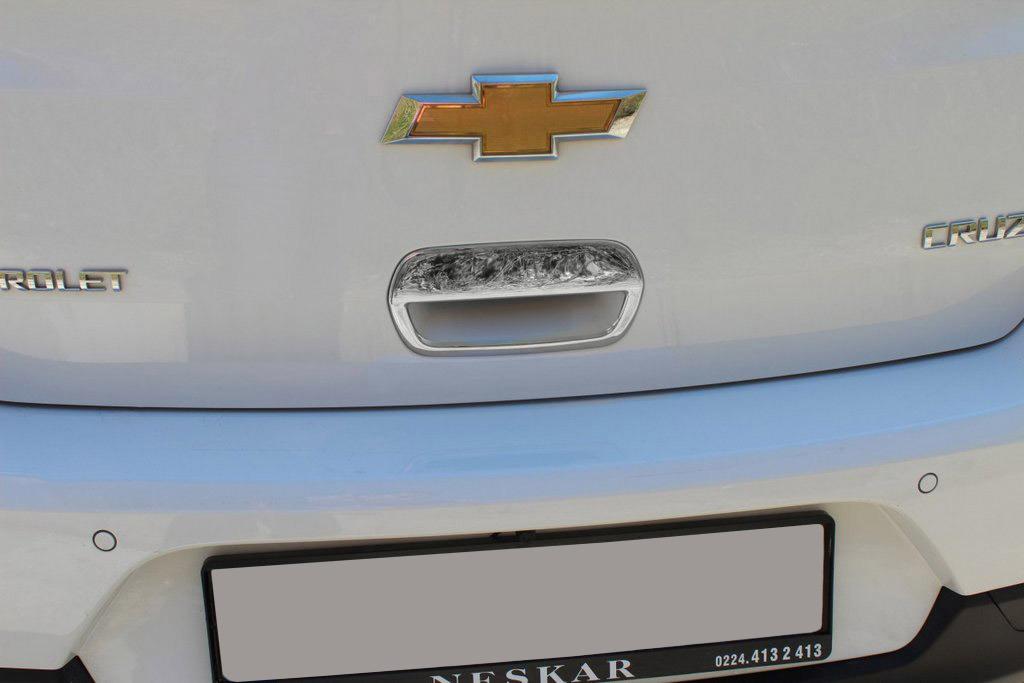 Накладка на ручку багажника (для версии HB, нерж.) OmsaLine - Итальянская нержавейка