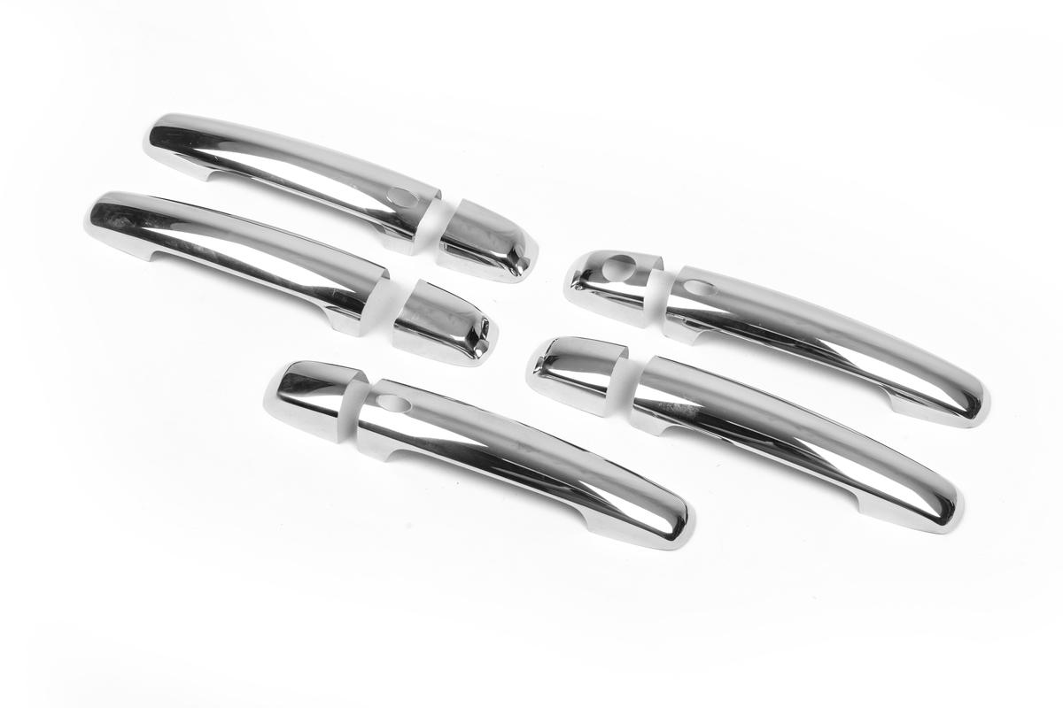 Накладки на ручки (5 шт, нерж, с чипом)