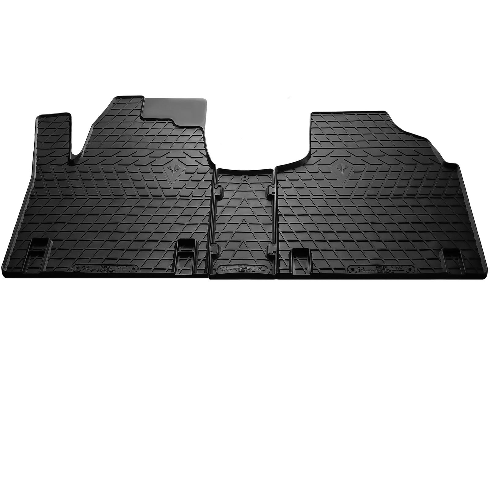 Резиновые коврики (3 шт, Stingray) Premium - без запаха резины