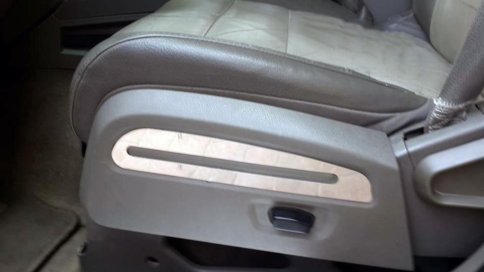 Хром накладки на сиденья (нерж)