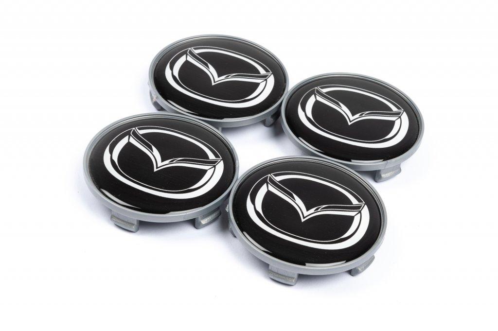 Mazda 65мм V4 черные силикон (4 шт)