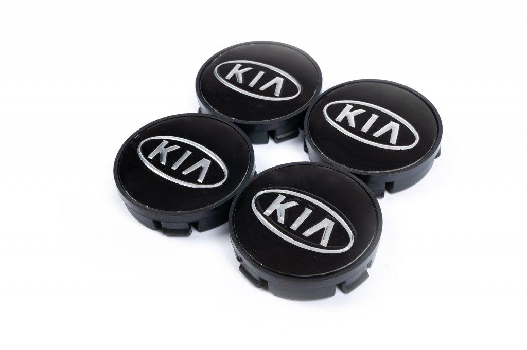 KIA 55мм V1 черные силикон (4 шт)