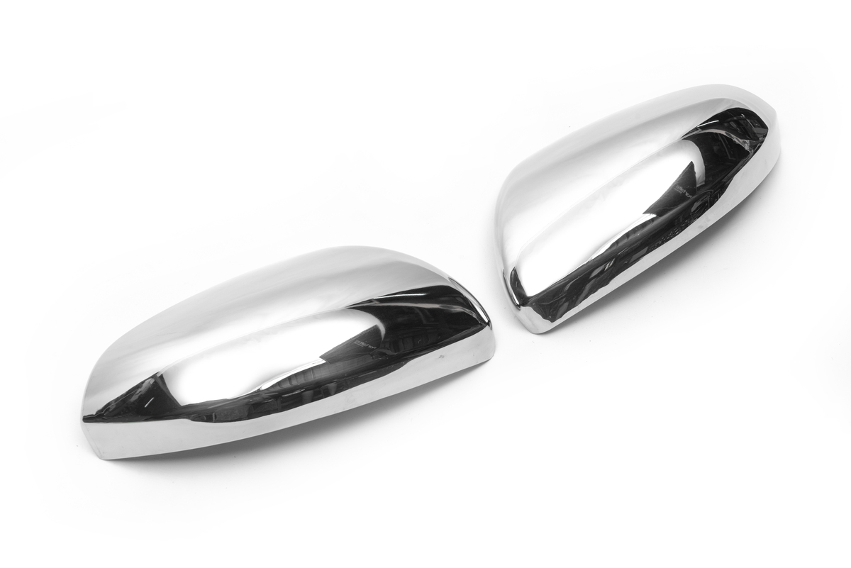Накладки на зеркала (2 шт, нерж)