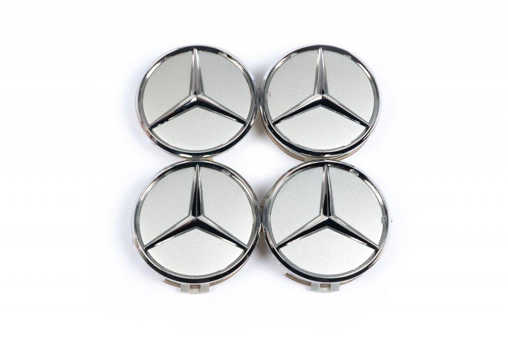 Mercedes 62/69 мм V6 серые (4 шт)