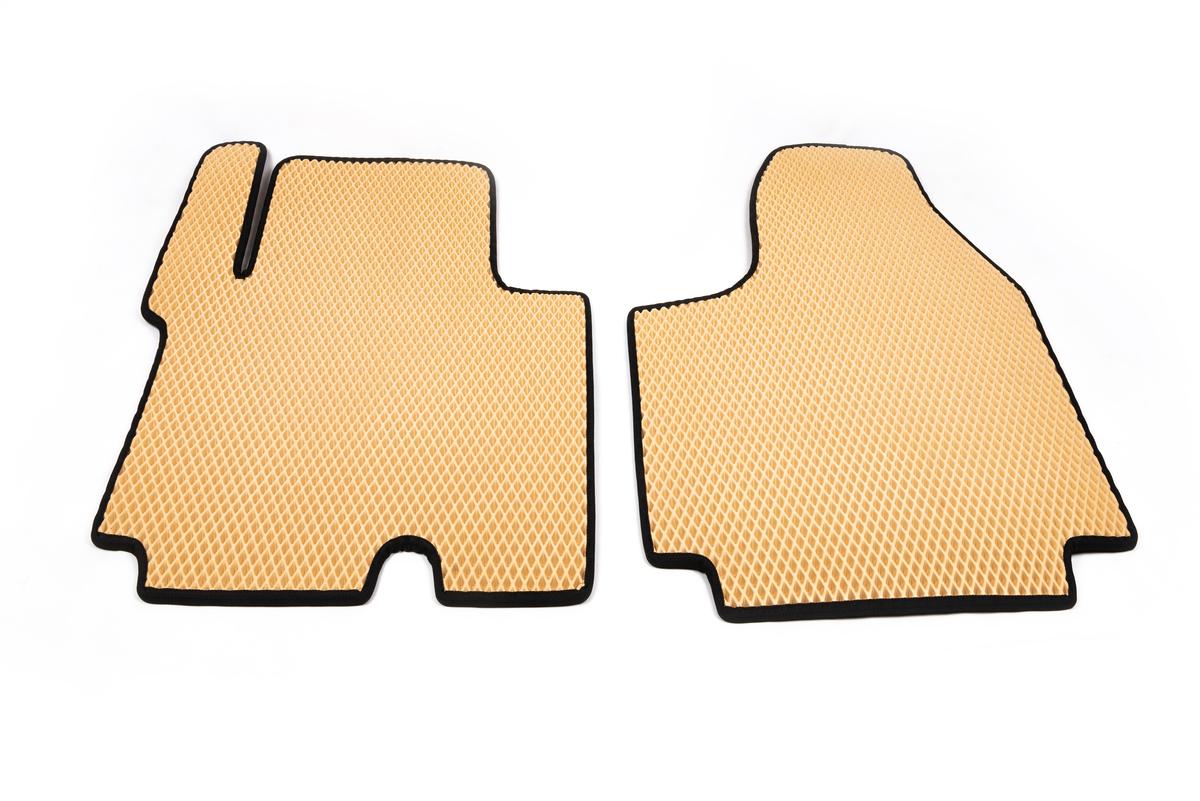Полиуретановые коврики (EVA, бежевые) 1+1