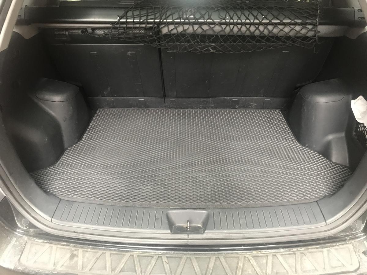Коврик багажника (EVA, полиуретановый, черный)