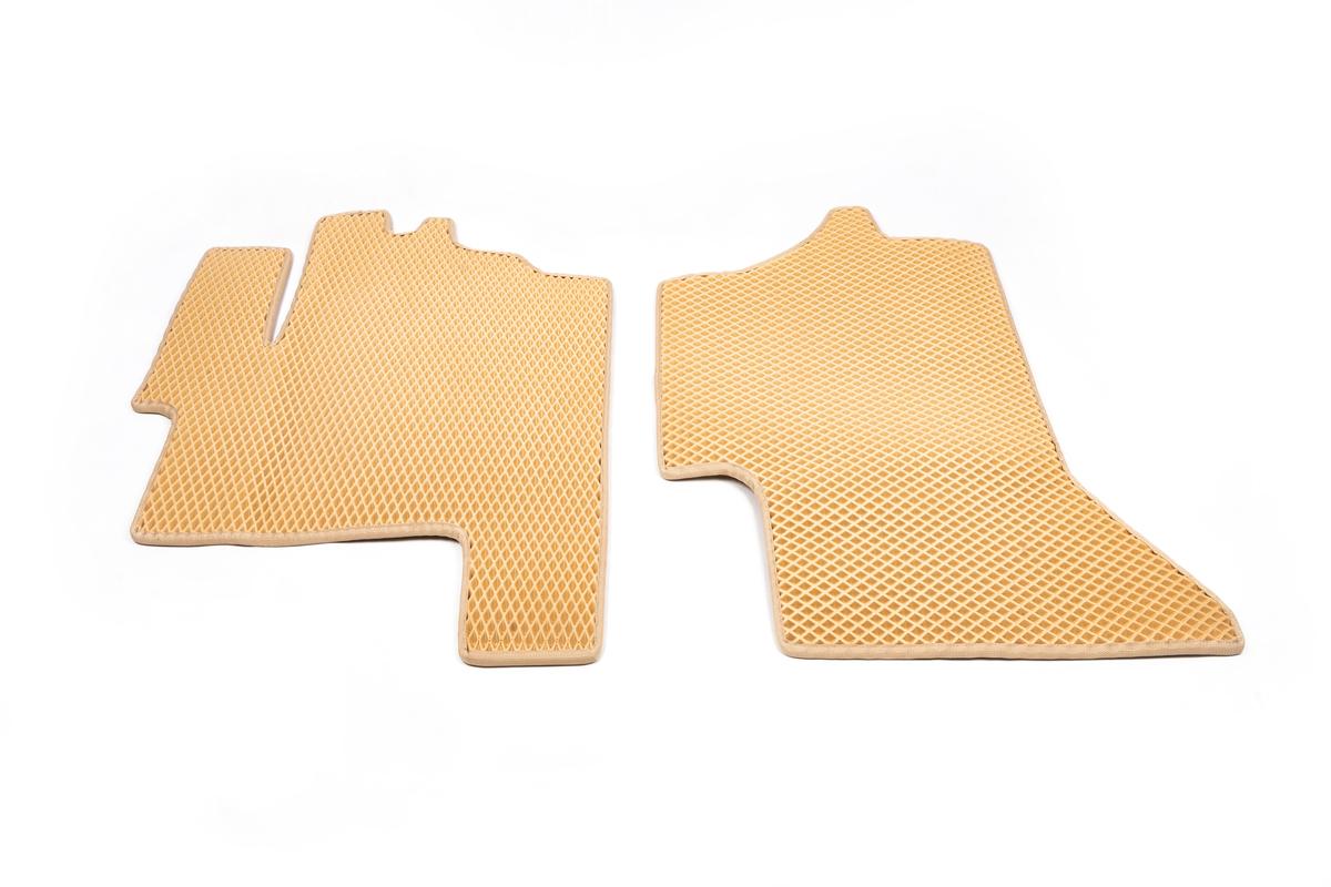 Полиуретановые коврики (EVA, бежевые)