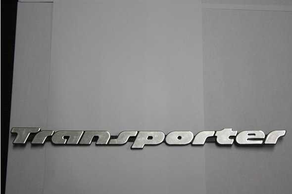 Надпись Transporter Под оригинал