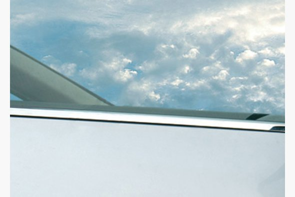 Наружняя окантовка стекол (Sedan, 4 шт, нерж)