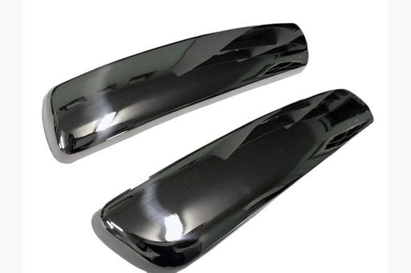 Накладка на задний бампер уголки (нерж)