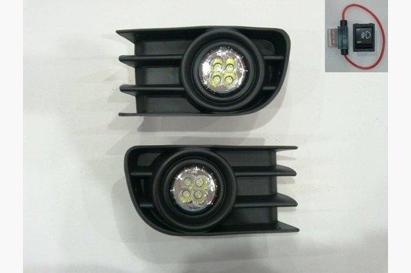 (модель 2004-2006) Противотуманки (LED-диоды)